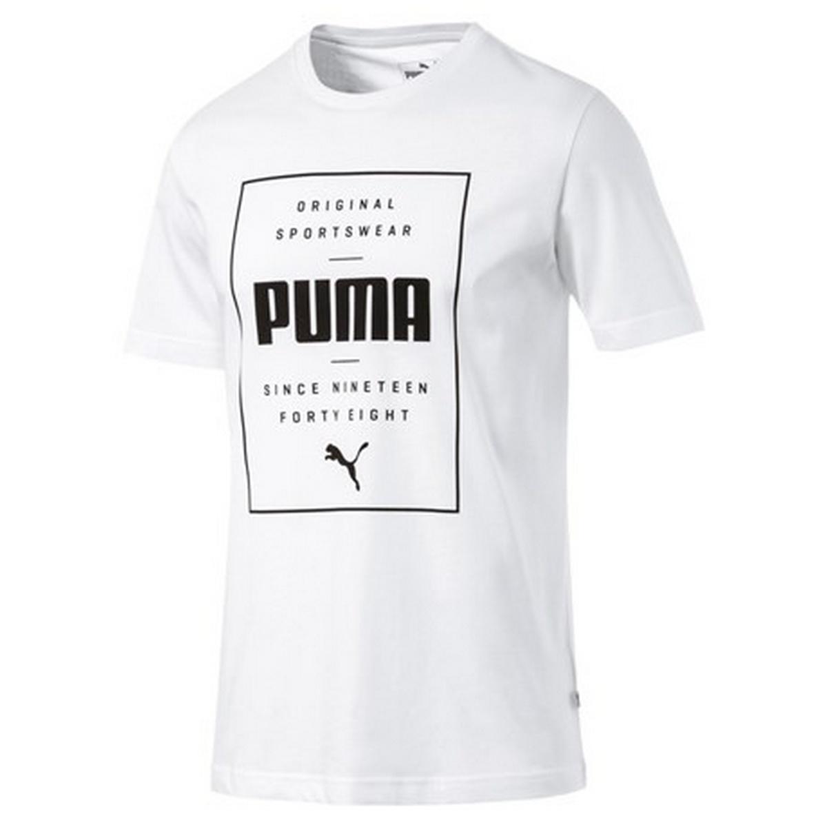 PUMA Majica PUMA BOX PUMA TEE