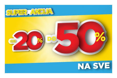 LJETO JE ZABAVNIJE UZ SUPER POPUSTE DO 50%!