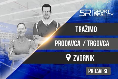 KONKURS: Prodavac/Trgovac u Sport Reality prodavnici