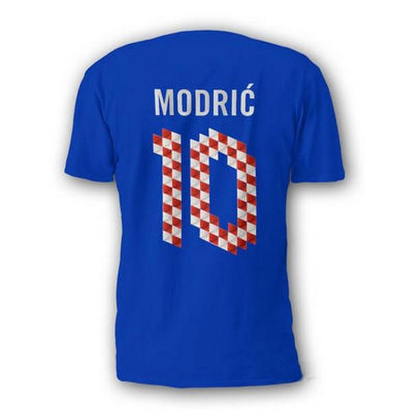 NIKE Majica QT CROATIA MODRIC 10  YTH S4