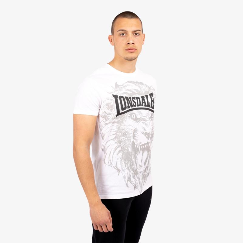 LONSDALE Majica RETRO LION TEE