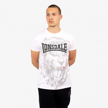 LONSDALE Majica RETRO LION TEE